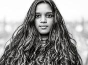 """Photo: """"Never Ending"""" Model: Elia Www.benheine.com #portrait #woman #indian #india #indiangirl #beauty #photography #benheinephotography #face #visage #eyes #yeux #youth #jeunesse #girl #look #hide #shy #hair #cheveux #natural"""