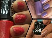 Maybelline Color Show Nail Polish- Nude Skin, Lavender Lies, Carpet