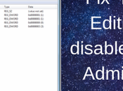 Fix- Registry Editing Disabled Your Administrator Windows