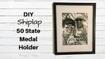 Shiplap State Medal Holder