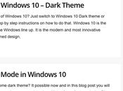 Enable Dark Theme Microsoft Edge