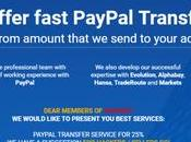 Inside PayPal Transfer Forum That's Competing with Darknet Markets