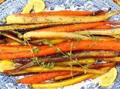 Honey Roasted Carrots with Lemon Herbs