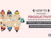 Manage Productivity, Minimize Litigation Prevent Security Risks Business?