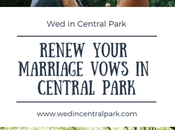 Renewing Your Wedding Vows Central Park