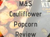 Product Review: M&S Cauliflower Popcorn