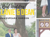 Melanie Dean's Intimate Wedding Shakespeare Garden