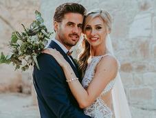 Rustic Wedding with Greenery White Hues Natasha Anne Timothy
