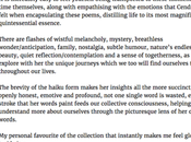 First 5-star Review 'Walks: Collection Haiku (Volume 2)'!