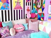House Tour: Crazy Colourful Inspired Rental Sheffield