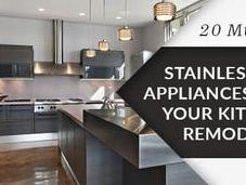Must-Have Stainless Steel Appliances Your Kitchen Remodel