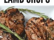 Garlic Rosemary Grilled Lamb Chops