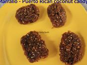Marrallo Puerto Rican Coconut Candy #EattheWorld
