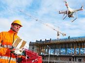 Futuristic Construction Transforming Manager's