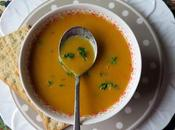 Spiced Parsnip Carrot Soup