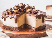 Gluten-Free Vegan Peanut Butter Cheesecake