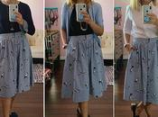 Three Ways: Printed A-Line Skirt