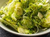 Apple, Fennel, Brussels Sprouts Slaw