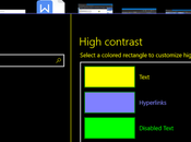 Enable High Contrast Mode Windows