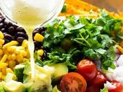 Loaded Mexican Kale Salad with Honey Lime Dressing