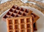 Easy Mix-and-Cook Crispy Coffee Belgian Waffles Served with Coffee-Maple Syrup HIGHLY RECOMMENDED!!!