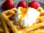 Crispy Buttermilk Waffles