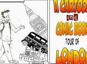 Cartoon ComicBook Tour London: Wonder Woman