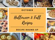 October 2019 Recipe Roundup: Halloween Fall Recipes