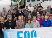 Textron Delivers 500th Caravan