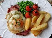 Gammon Steak, Chips