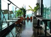 Create Open View with Glass Railings Balconies