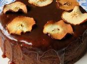 Moist Spicy Toffee Apple Cake