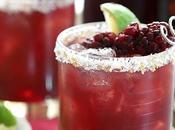Blackberry Serrano Margarita Cocktail