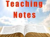 Teaching Notes: Secret Sanctification (Part