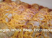 Vegan White Bean Enchiladas