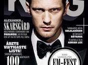 Alexander Skarsgård Cover King Magazine