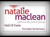 Natalie MacLean's Wine Wall Fame