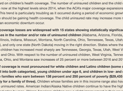 Number Uninsured Children Rising Under Trump