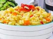 Instant Risotto with Artichokes Peppers