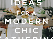Thanksgiving Chic: Ideas Modern Chic Gathering