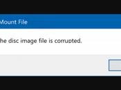 Fix: Disc Image File Corrupted Error Windows