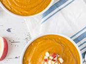 Sweet Potato Carrot Soup with White Beans