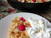 White Chocolate, Raspberry Almond Cookie