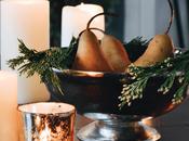 Table Decor: Easy Pear Cedar Centerpiece