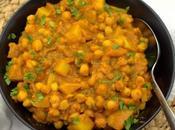 Chickpea Potato Curry #EattheWorld
