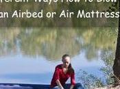 Different Ways Blow Airbed Mattress