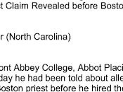 Diocese Charlotte George Berthold, Hired Teach Theology Belmont Abbey 1997: Case Study Hierarchical Duplicity Cover-Up