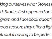 LinkedIn Stories: Conversational Format