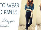 Wear Disco Pants Fashion Blogger Edition