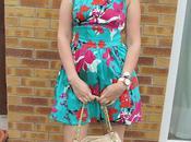 Oasis Flower Print Dress